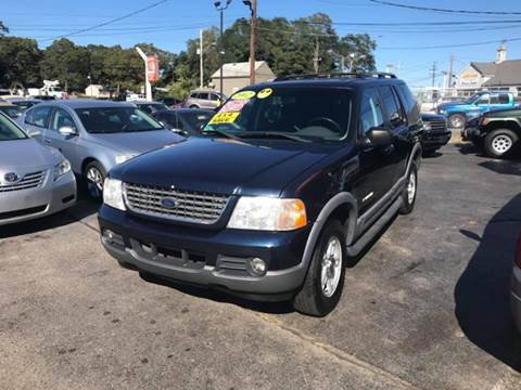 2002 Ford Explorer for sale at Sandy Lane Auto Sales and Repair in Warwick RI