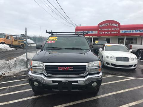 2005 GMC Sierra 1500 for sale at Sandy Lane Auto Sales and Repair in Warwick RI