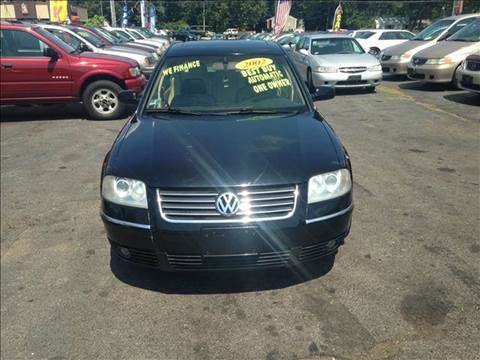 2002 Volkswagen Passat for sale at Sandy Lane Auto Sales and Repair in Warwick RI