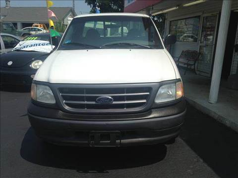 2002 Ford F-150 for sale at Sandy Lane Auto Sales and Repair in Warwick RI