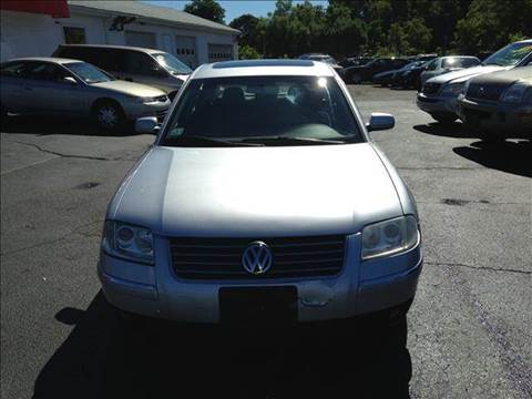 2001 Volkswagen Passat for sale at Sandy Lane Auto Sales and Repair in Warwick RI