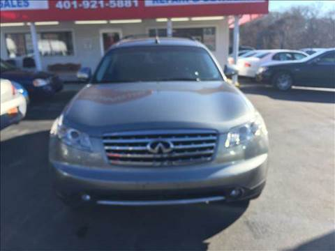 2007 Infiniti FX35 for sale at Sandy Lane Auto Sales and Repair in Warwick RI