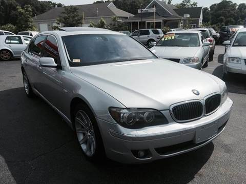 2006 BMW 7 Series for sale at Sandy Lane Auto Sales and Repair in Warwick RI