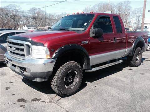 2002 Ford F-250 Super Duty for sale at Sandy Lane Auto Sales and Repair in Warwick RI