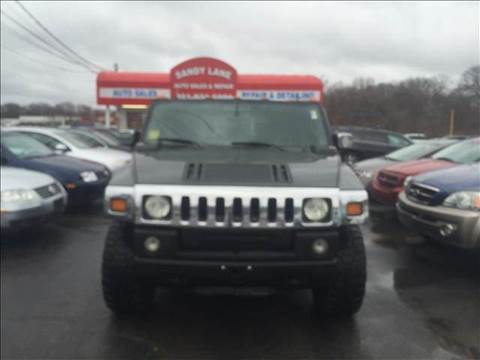 2003 HUMMER H2 for sale at Sandy Lane Auto Sales and Repair in Warwick RI