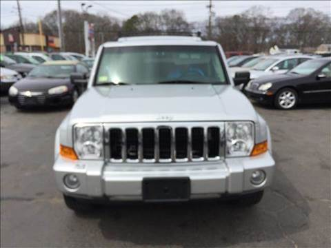 2007 Jeep Commander for sale at Sandy Lane Auto Sales and Repair in Warwick RI