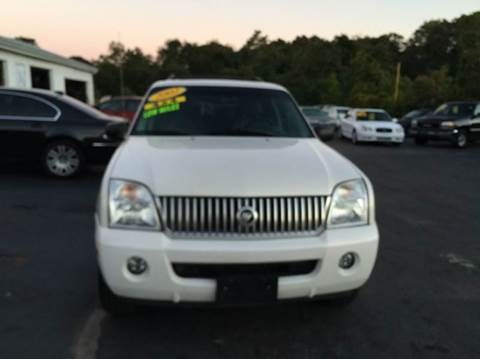 2002 Mercury Mountaineer for sale at Sandy Lane Auto Sales and Repair in Warwick RI
