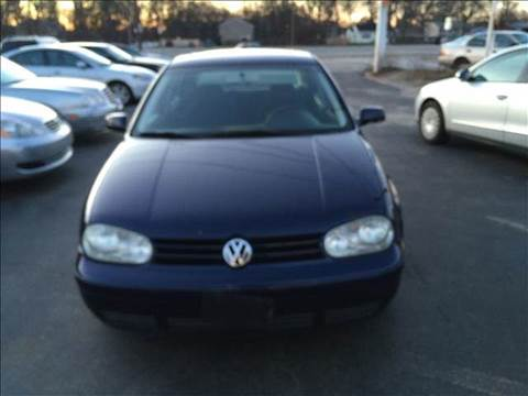 2002 Volkswagen Golf for sale at Sandy Lane Auto Sales and Repair in Warwick RI