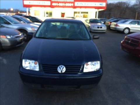 2002 Volkswagen Jetta for sale at Sandy Lane Auto Sales and Repair in Warwick RI