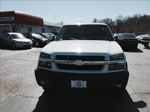2003 Chevrolet Avalanche for sale at Sandy Lane Auto Sales and Repair in Warwick RI