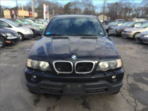 2003 BMW X5 for sale at Sandy Lane Auto Sales and Repair in Warwick RI