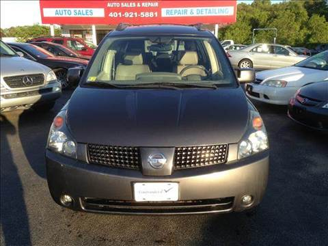 2004 Nissan Quest for sale at Sandy Lane Auto Sales and Repair in Warwick RI