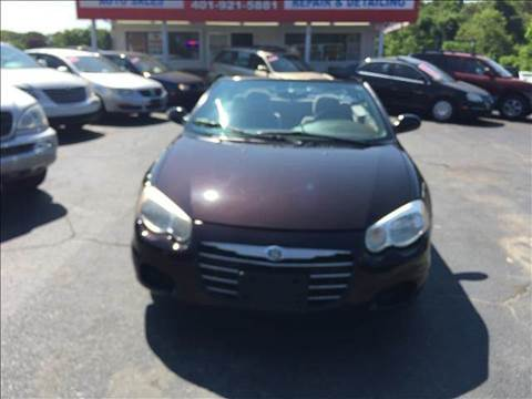 2004 Chrysler Sebring for sale at Sandy Lane Auto Sales and Repair in Warwick RI