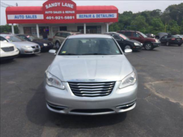 2011 Chrysler 200 for sale at Sandy Lane Auto Sales and Repair in Warwick RI