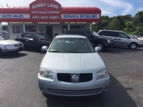 2004 Nissan Sentra for sale at Sandy Lane Auto Sales and Repair in Warwick RI