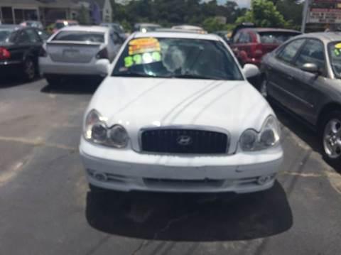 2003 Hyundai Sonata for sale at Sandy Lane Auto Sales and Repair in Warwick RI