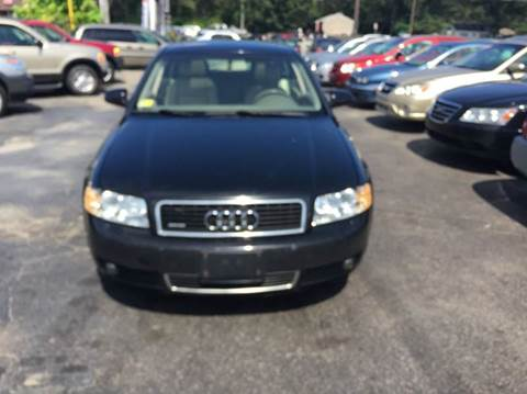 2005 Audi A4 for sale at Sandy Lane Auto Sales and Repair in Warwick RI