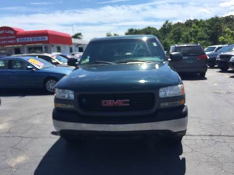 2001 GMC Sierra 1500 for sale at Sandy Lane Auto Sales and Repair in Warwick RI