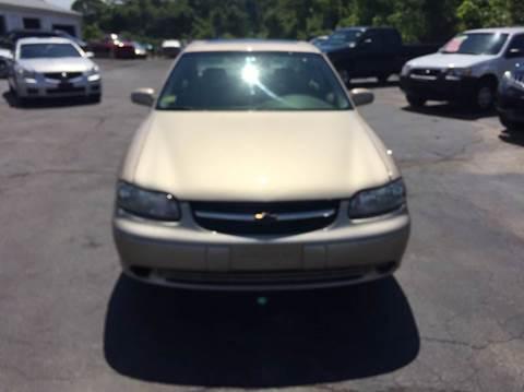 2002 Chevrolet Malibu for sale at Sandy Lane Auto Sales and Repair in Warwick RI