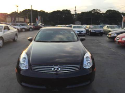 2006 Infiniti G35 for sale at Sandy Lane Auto Sales and Repair in Warwick RI