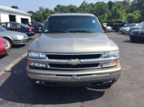 2000 Chevrolet Tahoe for sale at Sandy Lane Auto Sales and Repair in Warwick RI