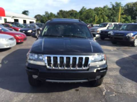 2004 Jeep Grand Cherokee for sale at Sandy Lane Auto Sales and Repair in Warwick RI