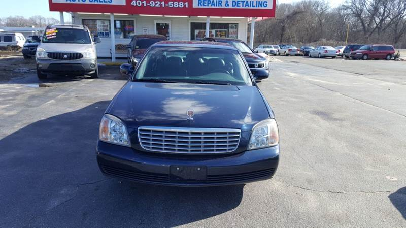 2002 Cadillac DeVille for sale at Sandy Lane Auto Sales and Repair in Warwick RI