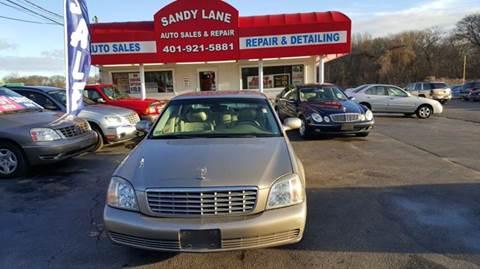 2002 Cadillac DeVille for sale in Warwick, RI