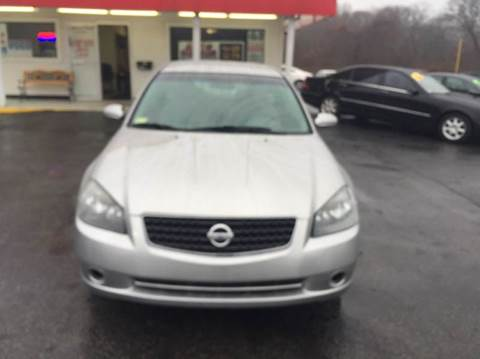 2005 Nissan Altima for sale at Sandy Lane Auto Sales and Repair in Warwick RI