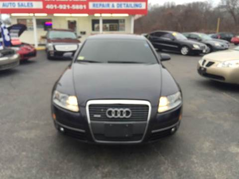2006 Audi A6 for sale at Sandy Lane Auto Sales and Repair in Warwick RI
