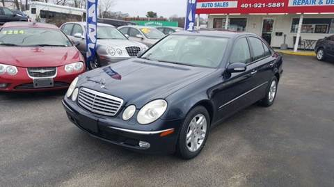 2006 Mercedes-Benz E-Class for sale at Sandy Lane Auto Sales and Repair in Warwick RI