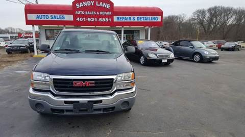 2006 GMC Sierra 1500 for sale at Sandy Lane Auto Sales and Repair in Warwick RI