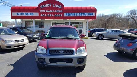 2004 Hyundai Santa Fe for sale at Sandy Lane Auto Sales and Repair in Warwick RI