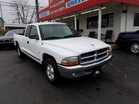 1999 Dodge Dakota for sale at Sandy Lane Auto Sales and Repair in Warwick RI