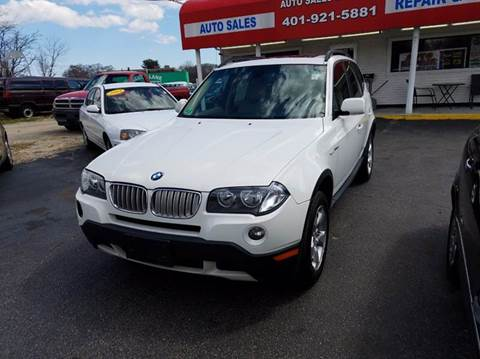 2008 BMW X3 for sale at Sandy Lane Auto Sales and Repair in Warwick RI