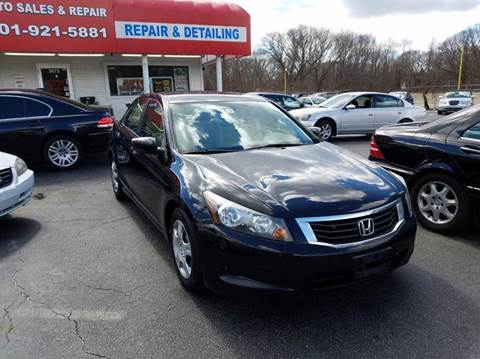 2009 Honda Accord for sale at Sandy Lane Auto Sales and Repair in Warwick RI