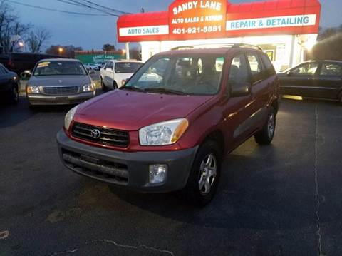 2001 Toyota RAV4 for sale at Sandy Lane Auto Sales and Repair in Warwick RI