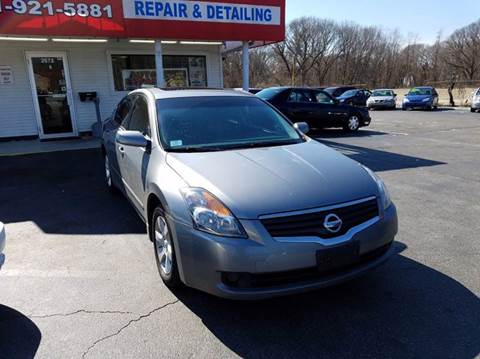 2009 Nissan Altima for sale at Sandy Lane Auto Sales and Repair in Warwick RI