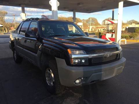 2002 Chevrolet Avalanche for sale at Sandy Lane Auto Sales and Repair in Warwick RI
