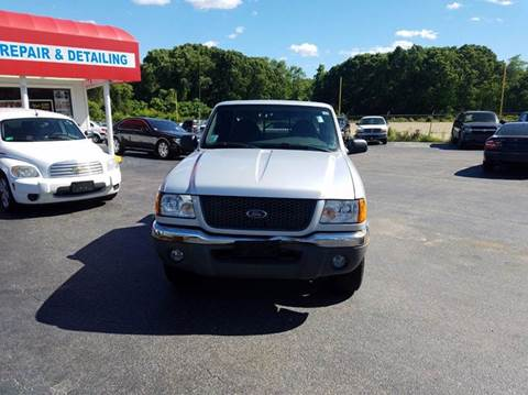 2003 Ford Ranger for sale at Sandy Lane Auto Sales and Repair in Warwick RI