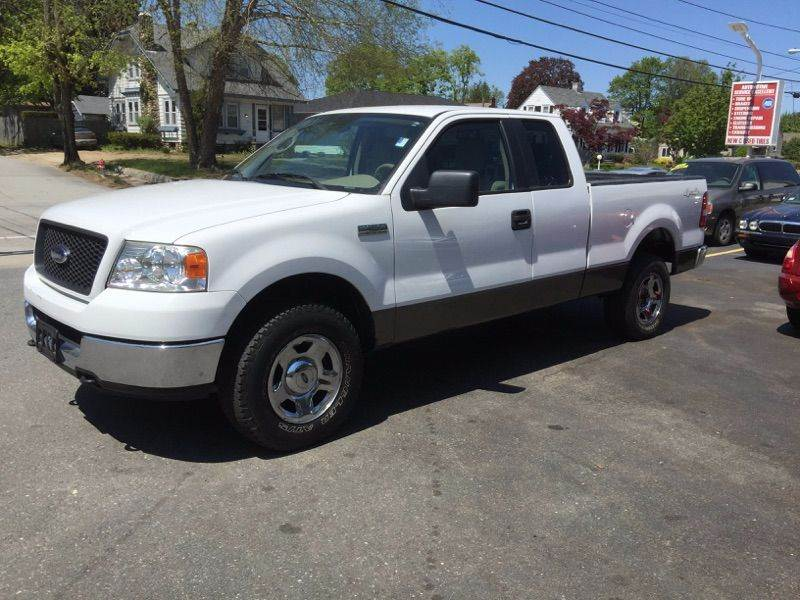 2005 ford f 150 fx4 4dr supercab 4wd styleside 5 5 ft sb in warwick ri sandy lane auto sales. Black Bedroom Furniture Sets. Home Design Ideas