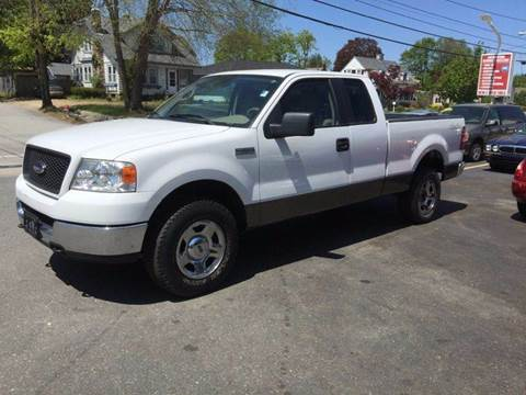 2005 Ford F-150 for sale at Sandy Lane Auto Sales and Repair in Warwick RI