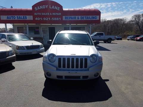 2008 Jeep Compass for sale at Sandy Lane Auto Sales and Repair in Warwick RI