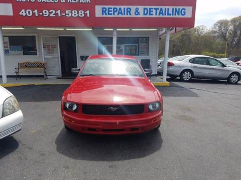 2006 Ford Mustang for sale at Sandy Lane Auto Sales and Repair in Warwick RI