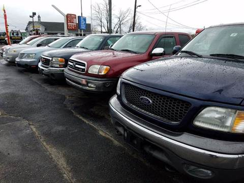 2003 Ford F-150 for sale at Sandy Lane Auto Sales and Repair in Warwick RI