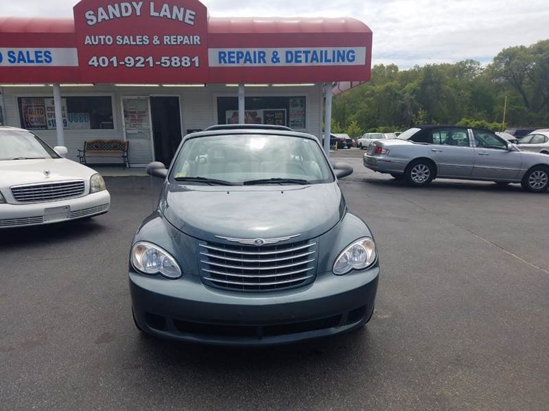 2006 Chrysler PT Cruiser for sale at Sandy Lane Auto Sales and Repair in Warwick RI