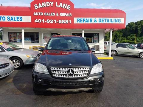 2008 Mercedes-Benz M-Class for sale at Sandy Lane Auto Sales and Repair in Warwick RI