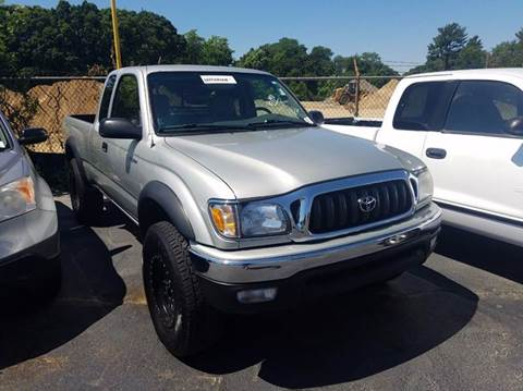 2003 Toyota Tacoma for sale at Sandy Lane Auto Sales and Repair in Warwick RI