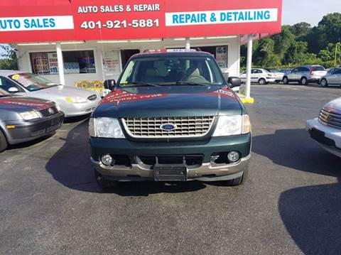 2003 Ford Explorer for sale at Sandy Lane Auto Sales and Repair in Warwick RI