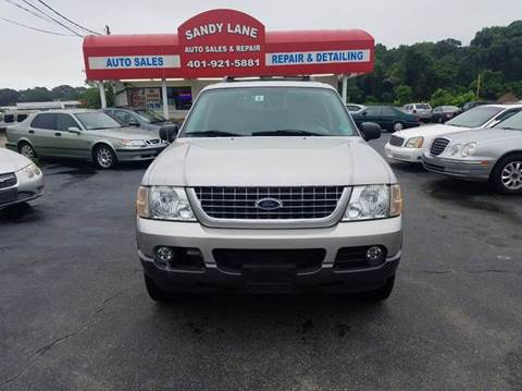 2005 Ford Explorer for sale at Sandy Lane Auto Sales and Repair in Warwick RI